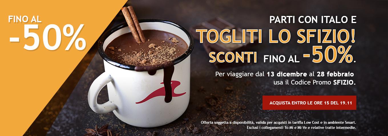 Italo a -50%