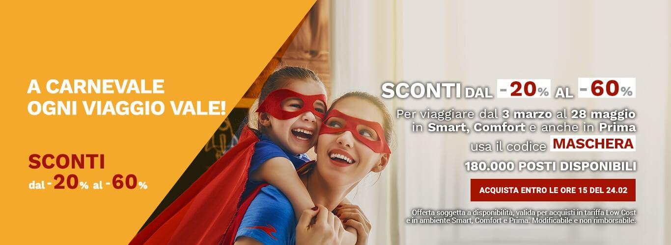 Offerta codice sconto Italo a -50%